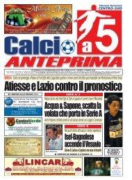 calcio a 5 anteprima 12/10 CS