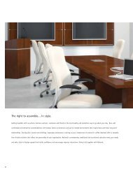 The right to assemble... in style. - National Office Furniture
