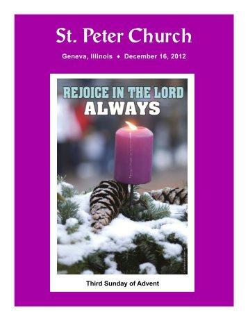 St. Peter Church - St. Peter Catholic Church