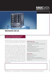 MAXDATA SN 40