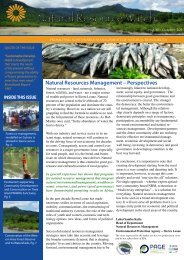 Natural Resource Watch - ACDI/VOCA