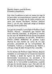 Discurso Profesor Dr. Juan José Durán Herrera - ACEDE