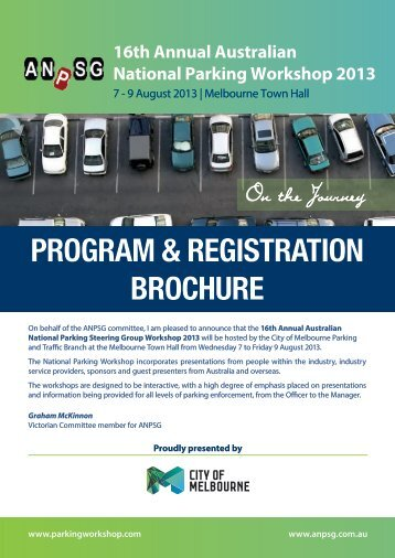ANPSG 2013 Registration Brochure