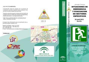 Triptico EMERGENCIA EVACUACION.pdf - Cátedra de Prevención ...