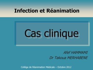 Cas clinique Drs Afef HAMMAMI / Takoua MERHBENE - ATuRea