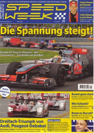 Speedweek - Ausgabe 2010-25 - RS-Sportbilder