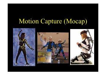 Motion Capture (Mocap)