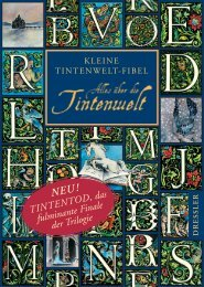 TINTENTOD, das fulminante Finale der Trilogie - Dressler Verlag