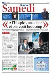 Une autre Genève - Hospice général