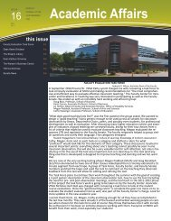 Monthly Journal of the Vice President for Academic - SNHU ...