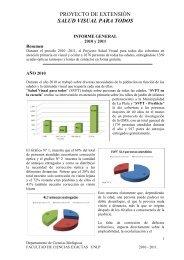 2010 - 2011 - Departamento de Ciencias Biológicas - Universidad ...
