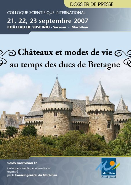 DOSSIER DE PRESSE - Conseil général du Morbihan