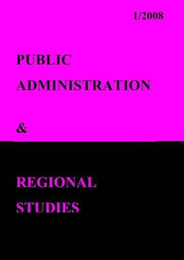 public administratio.. - Facultatea de Drept