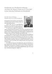 Grußworte zur Abschiedsvorlesung von Prof. Dr. Klaus J. Bade am ...