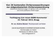 ZPO Bestimmungen mit Bezug zum LPG 1. Teil - SBV Treuhand und ...