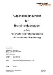 Aufschaltbedingungen für Brandmeldeanlagen - UDS, Uwe ...