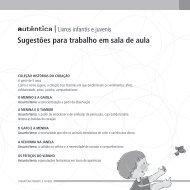 Livros infantis e juvenis Sugestões para trabalho em sala de aula.