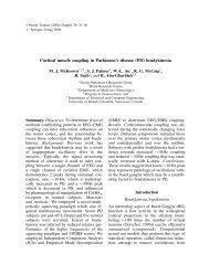 J Neural Transm (2006) - Biomedical Signal and Image Computing ...