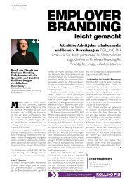 EMployEr Branding - ROLLINGPIN