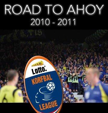 """Korfbal, """"The Road to Ahoy"""", seizoen 2010/2011 - Teampresentatie.nl"""
