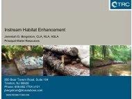 Instream Habitat Enhancement - Rutgers Cooperative Extension ...