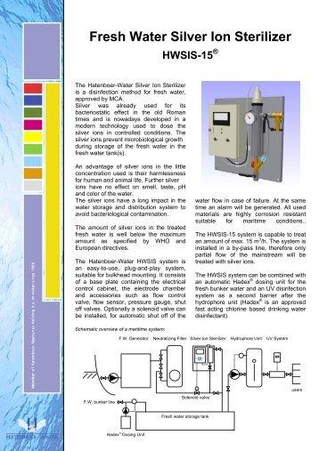Fresh Water Silver Ion Sterilizer - Marine Plant Systems