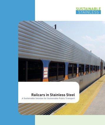 ISSF Railcars in Stainless Steel - Nickel Institute