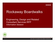 Rockaway Boardwalks - NYCEDC