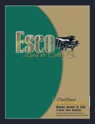 PRODUCTION SALE - National Cattle Services, Inc.