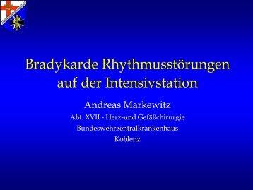 Bradykardie - Die DIVI