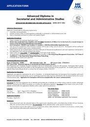 Advanced Diploma in Secretarial and Administrative Studies
