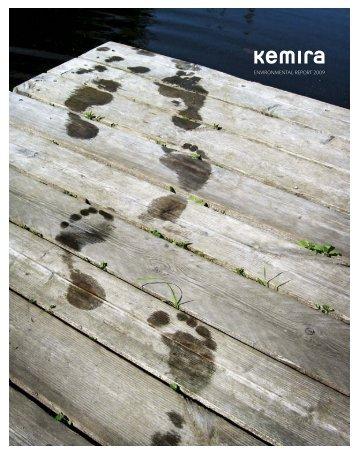 Environmental report 2009 - Kemira