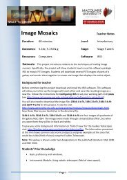 Image Mosaics-TV.pdf - Physics and Astronomy