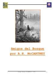 Amigos del Bosque por A.H. McCARTNEY - Scouts Sant Yago