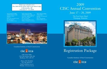 Registration Package - CISC-ICCA