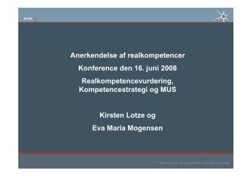 kompetencestrategi. - SCKK