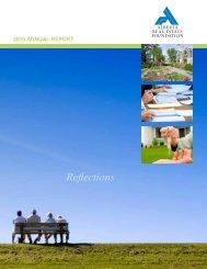 2010 Alberta Real Estate Foundation Annual Report