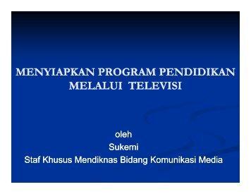 program tv pendidikan