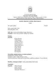 sēdes protokols - Viļaka