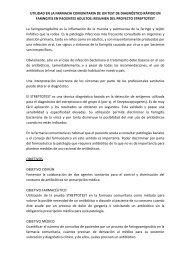 UTILIDAD EN LA FARMACIA COMUNITARIA DE UN TEST ... - SEFaC
