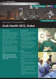 Arab Health 2012, Dubai - Business Gold Coast