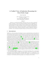 A Unified View of Induction Reasoning for First-Order Logic