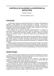 CONTROLE DE SALMONELLA ENTERITIDIS NA AVICULTURA ...