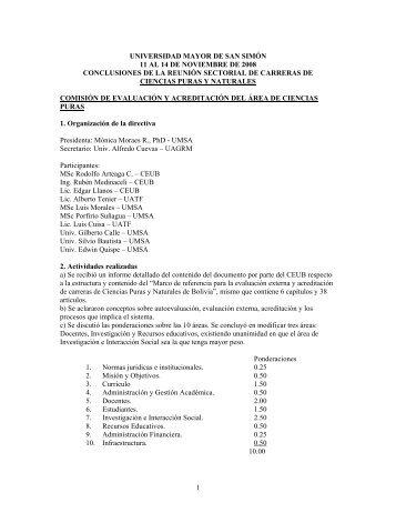 1 universidad mayor de san simón 11 al 14 de noviembre de 2008 ...