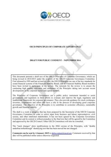 OECD-Principles-CG-2014-Draft