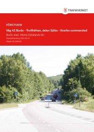 Väg 42 Borås - Trollhättan, delen Sjöbo - Kvarbo ... - Trafikverket