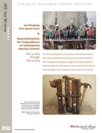 Ceramics Research Center presents - ASU Art Museum