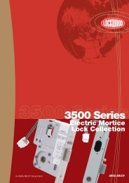 3500 Series Electric Mortice Lock - ARC Automation, Security ...