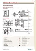 3500 Series Electric Mortice Lock - ARC Automation, Security ... - Page 5