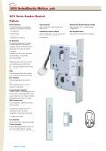 3500 Series Electric Mortice Lock - ARC Automation, Security ... - Page 6